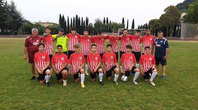 Giovanissimi 2006dellaPolisportiva Vallecrosia Academy