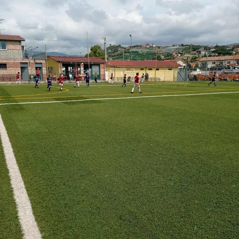 Pulcini 2010 della Polisportiva Vallecrosia Academy