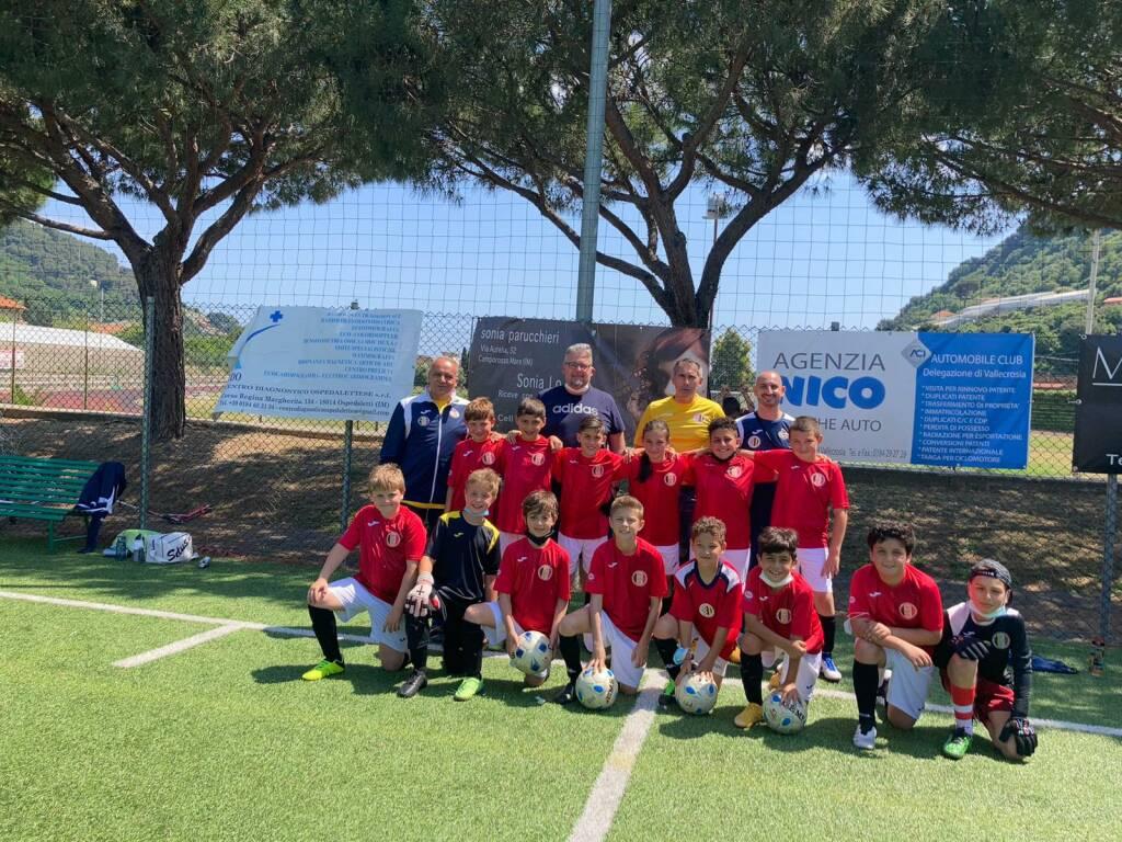 Pulcini 2011della Polisportiva Vallecrosia Academy