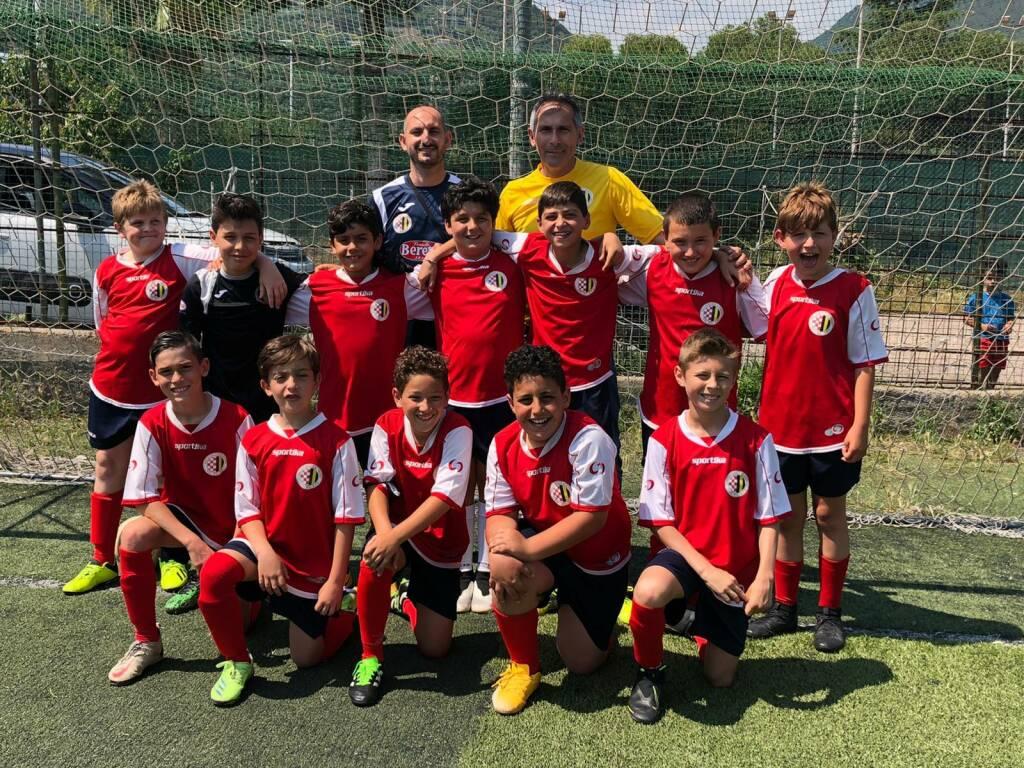 Pulcini 2011 della Polisportiva Vallecrosia Academy
