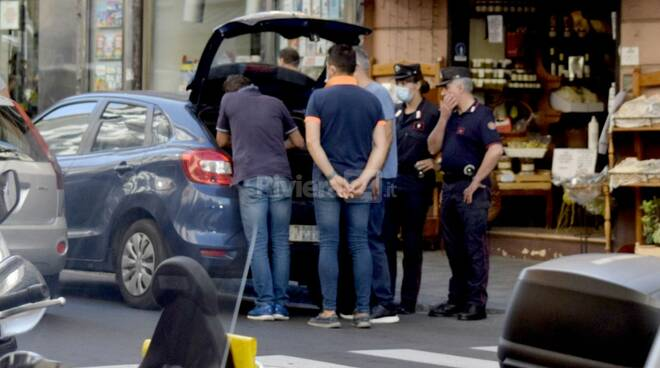 riviera24 - carabinieri sanremo tentato furto