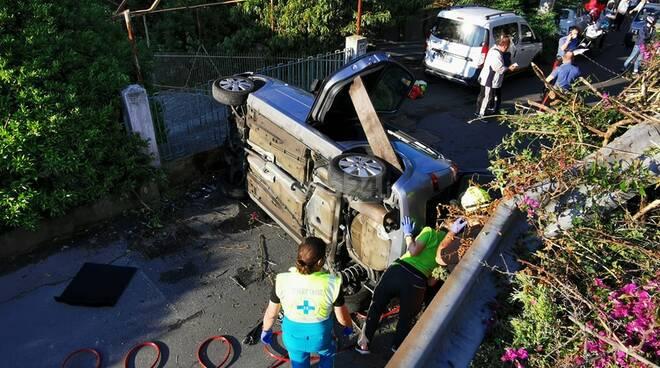 Riviera24 - Incidente a Borghetto