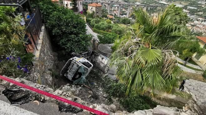 Riviera24- incidente Bordighera