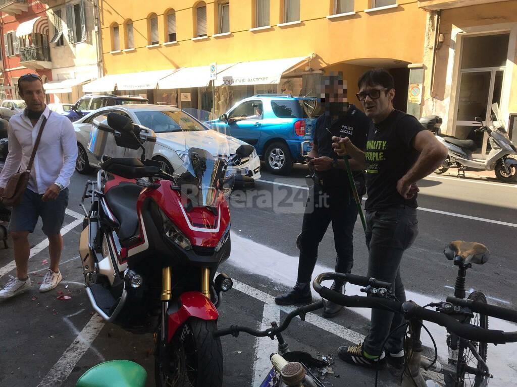 Riviera24- incidente corso genova