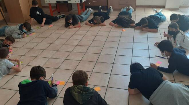 riviera24 - studenti di Pontedassio
