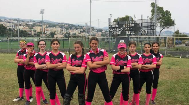 Softball School di Sanremo under 15