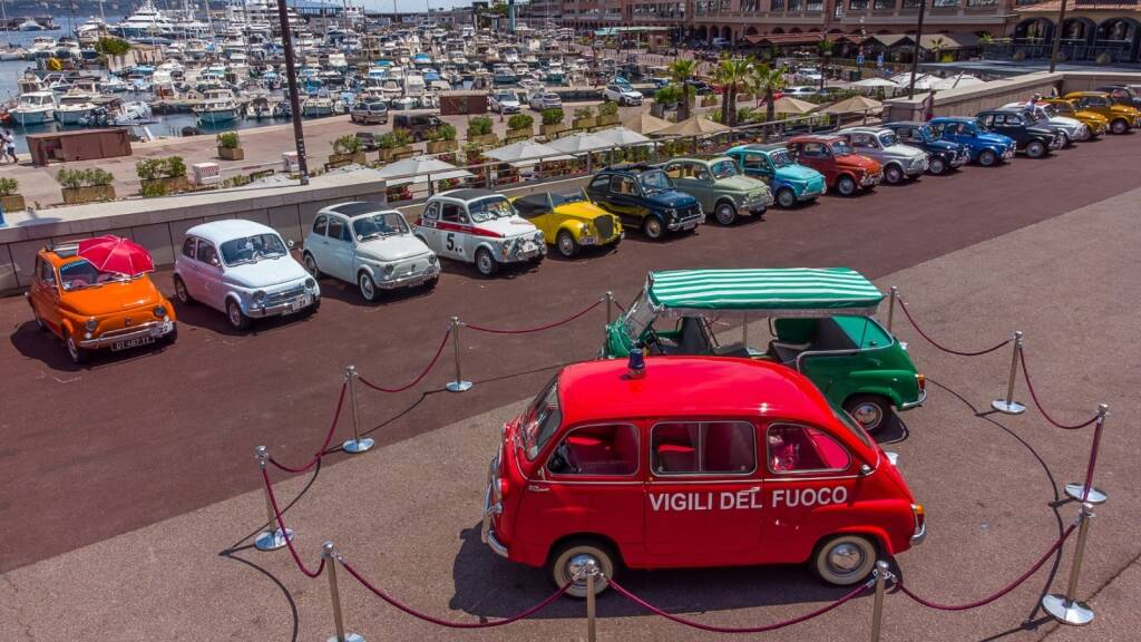 1° Monaco International Meeting delle storiche fiat 500