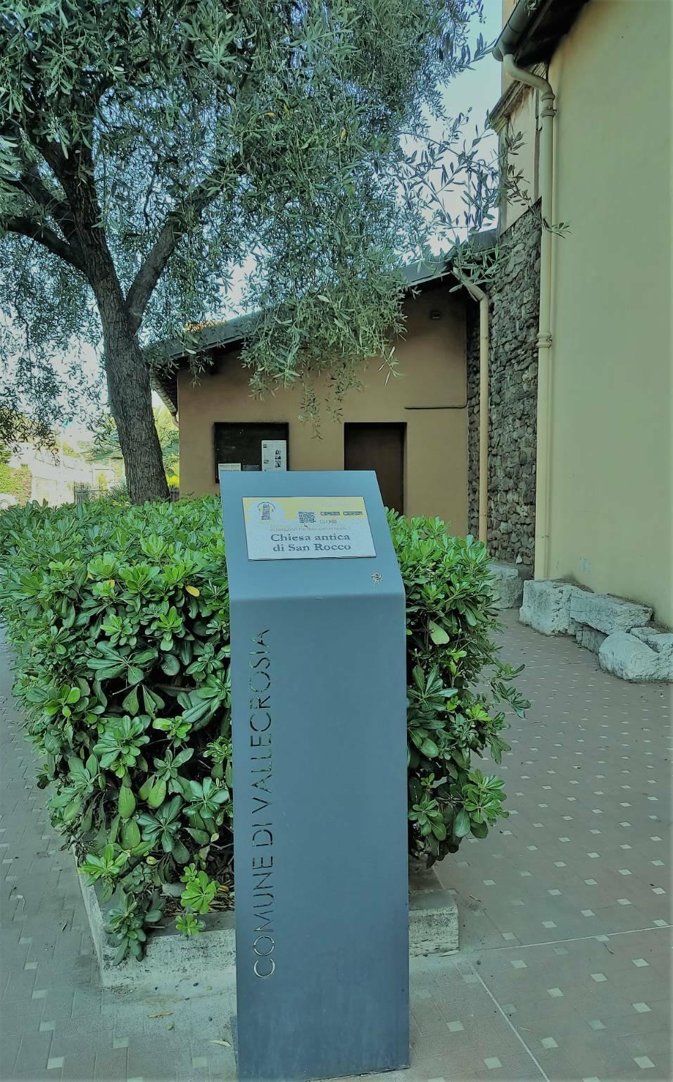 Cartellonistica siti culturali Vallecrosia