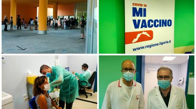 vaccini fino a mezzanotte collage