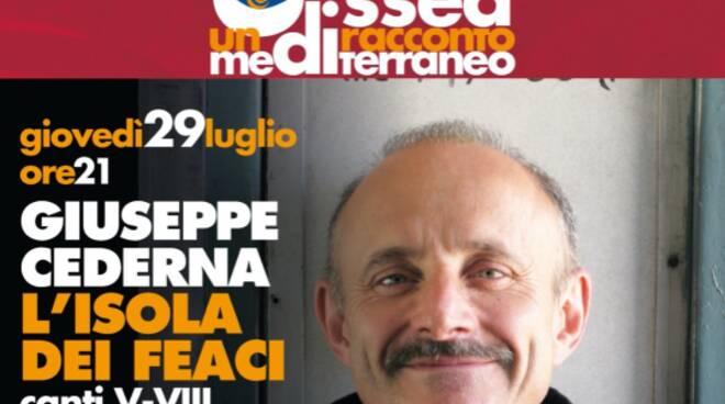 Giuseppe Cederna e L'isola dei Feaci