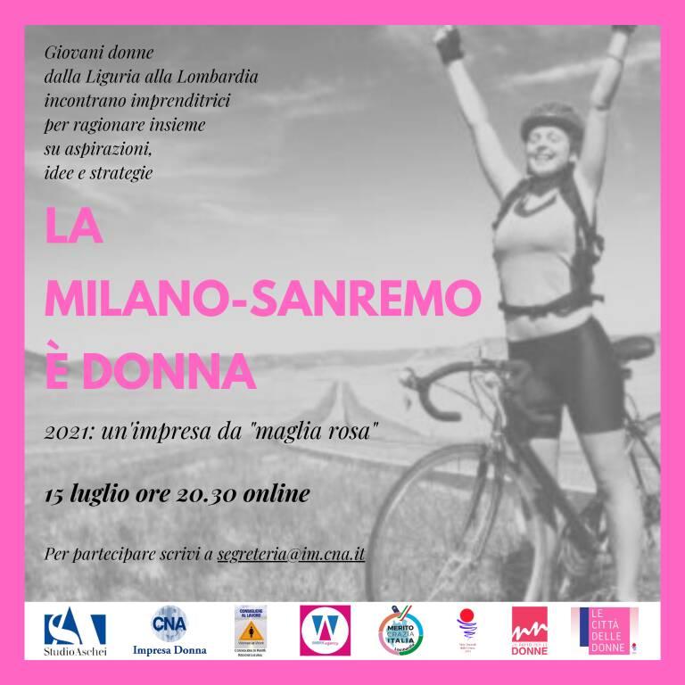 La Milano-Sanremo è donna