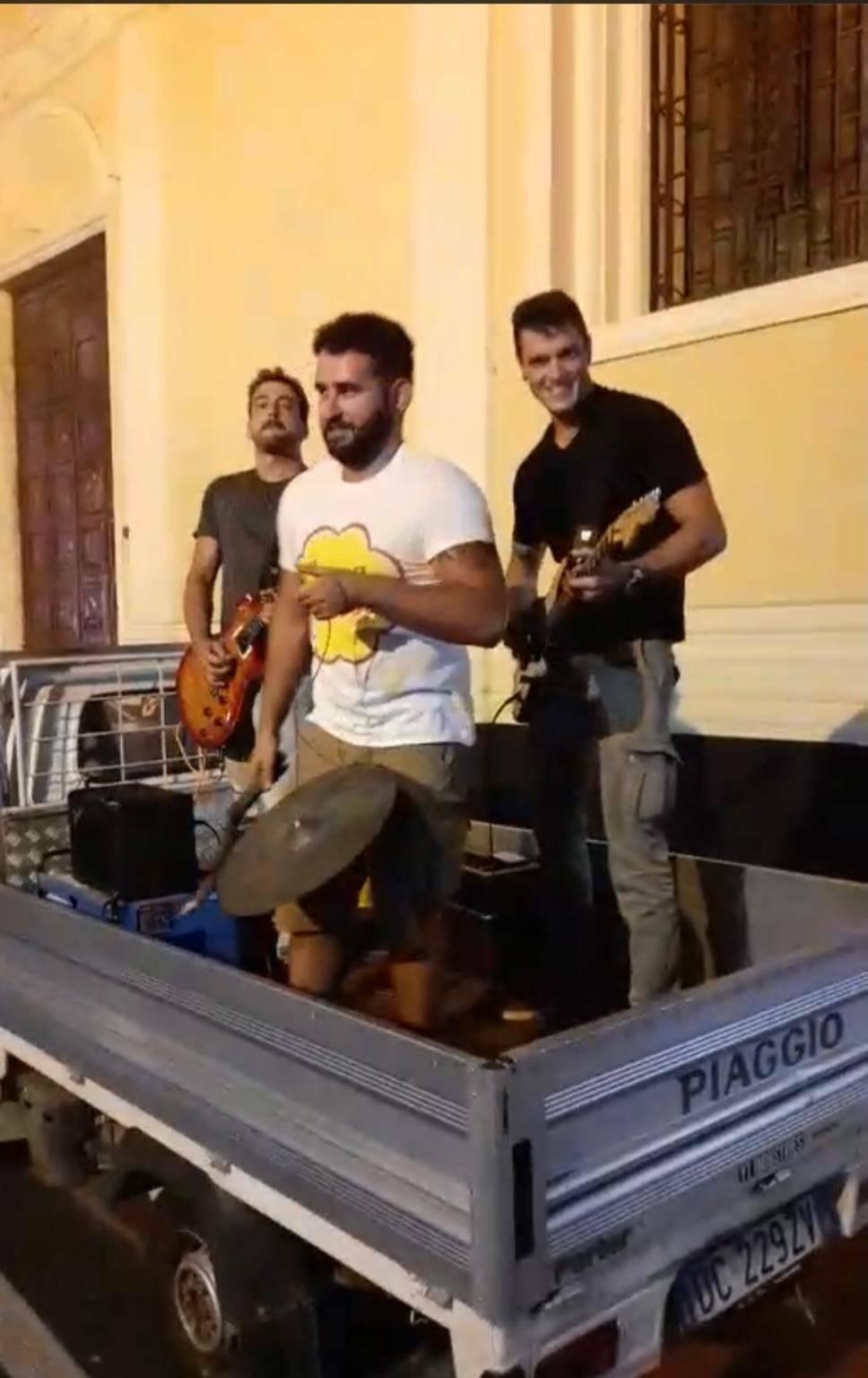 Matteo Olivieri, Filippo Testa e Paolo Ardissone