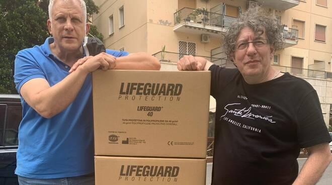 Nicola Convertino e Flavio Ferra