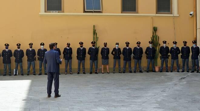 nuovi agenti polizia imperia