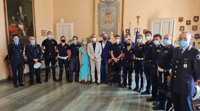 Polizia municipale Sanremo