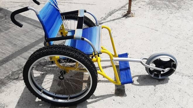 riviera24 - carrozzella sedia a rotelle