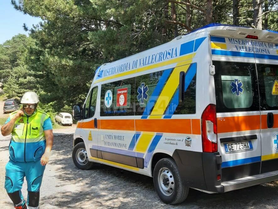 riviera24 - elisoccorso vigili fuoco soccorsi gouta