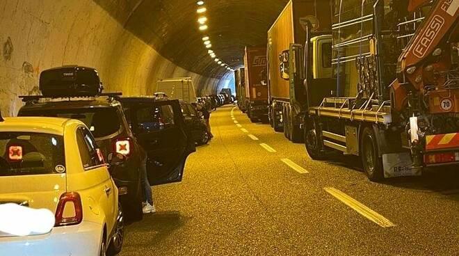 riviera24 - incidente in autostrada