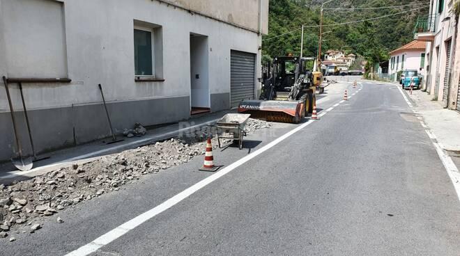 riviera24 - lavori in corso badalucco