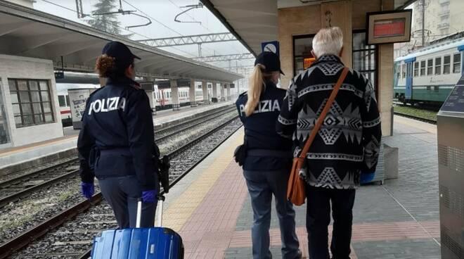 riviera24 polfer polizia ferroviaria ventimiglia stazione