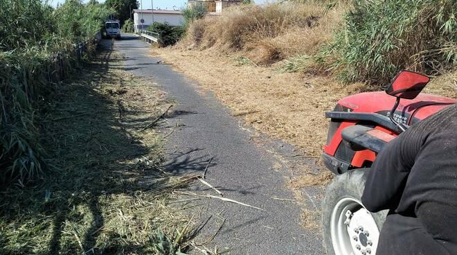 riviera24 pulizia strada steria