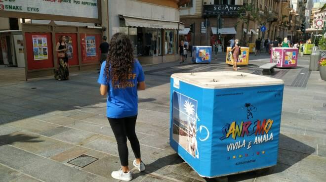 riviera24 Sanremo, nuovo info point in centro affidato agli studenti dell'ITT