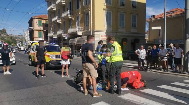 riviera24 - soccorsi 118 croce rossa pedone investito