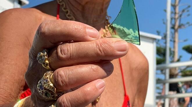 Riviera24- spiaggia libera bordighera