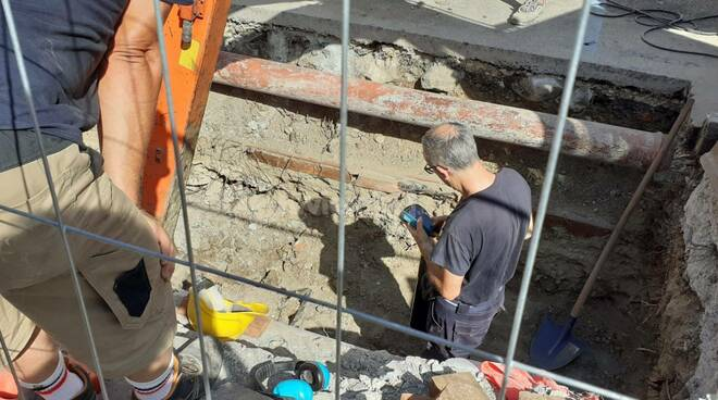 riviera24 - verifiche archeologiche via nino bixio