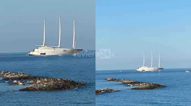 sailing yacht a sanremo