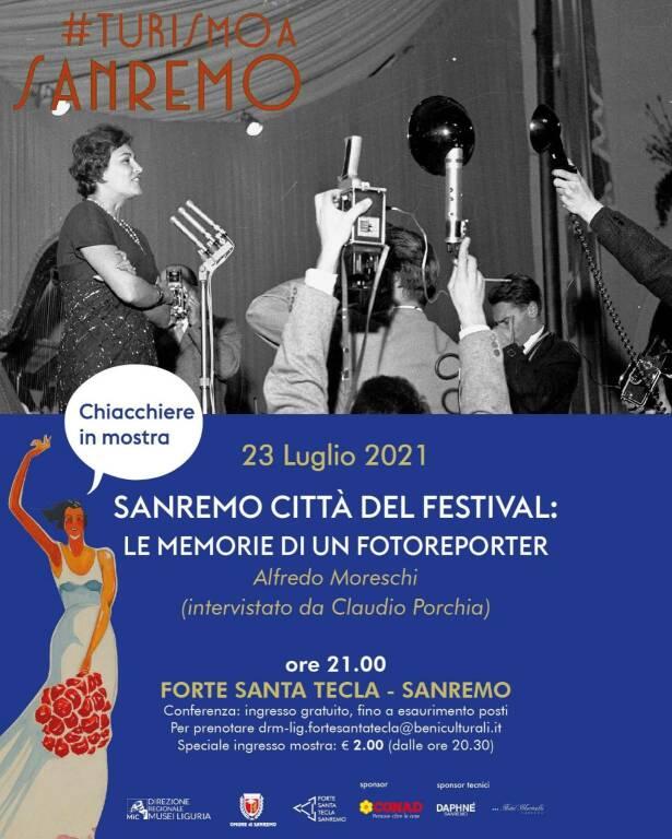 """""""Sanremo città del Festival: le memorie di un fotoreporter"""""""