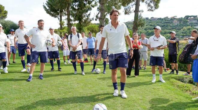 Sanremo, le vecchie glorie della Serie A si sfidano a Footgolf