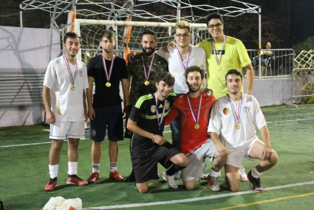 Sanremo, torneo di calcio a 5 amatoriale