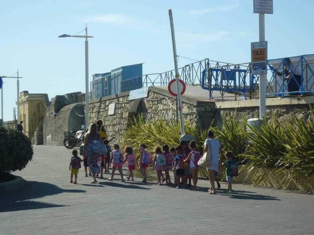 Scuola materna estiva a Pontedassio