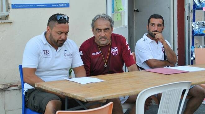 Staff tecnico dei Giovanissimi 2007 Ventimiglia Calcio