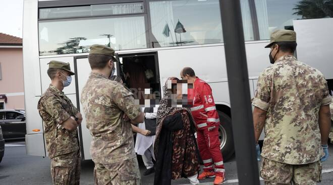 Afgani Sanremo rifugiati