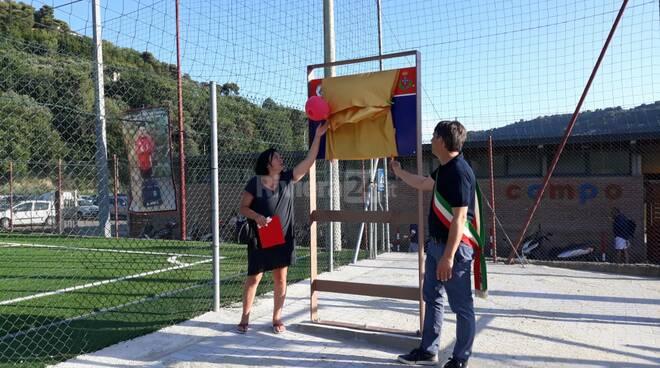 Campo dedicato a Manuel Cesarini