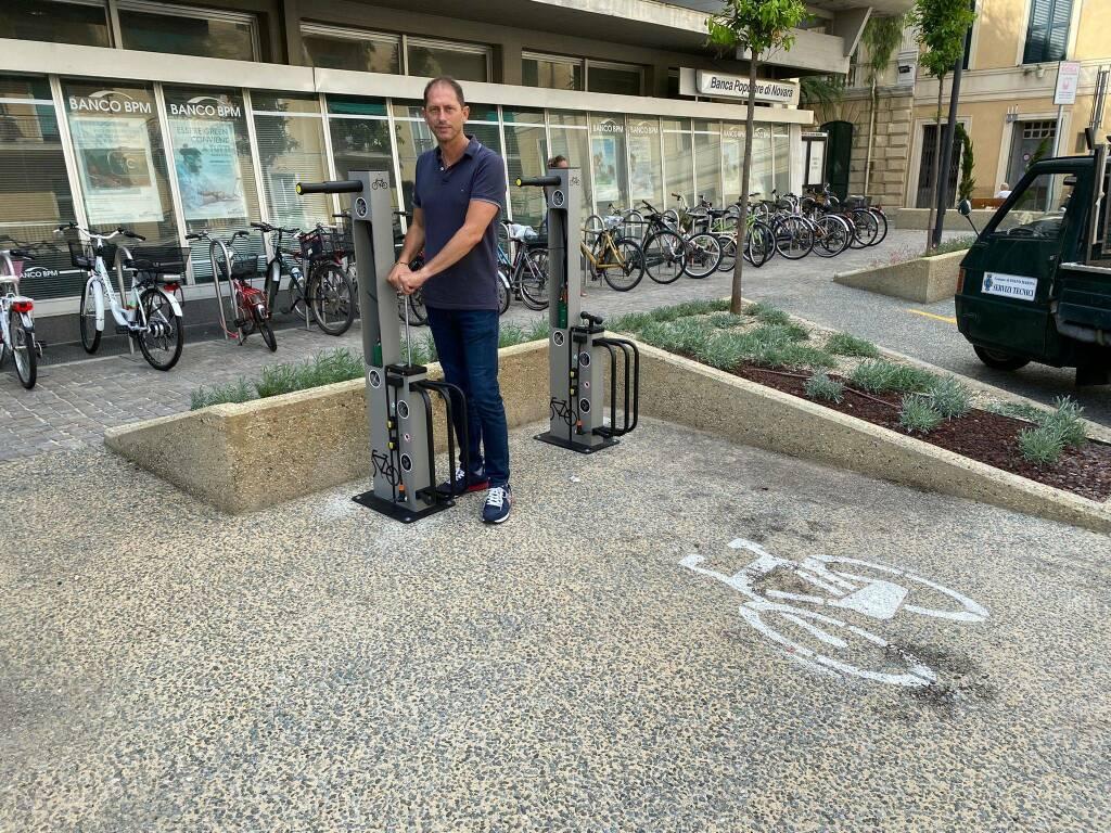 Colonnine per bici elettriche