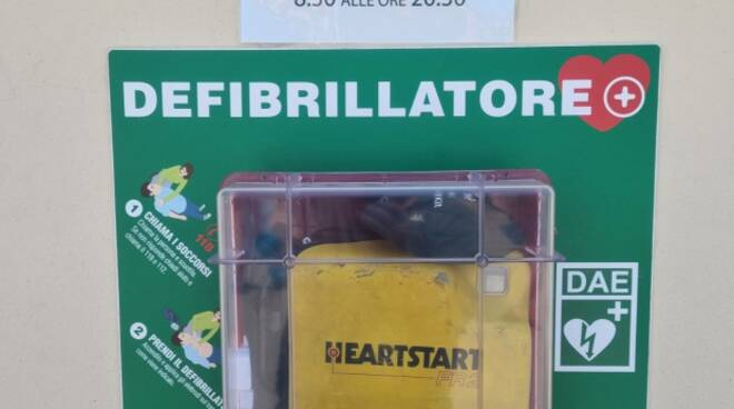 """Defibrillatore allo """"Zaccari"""""""