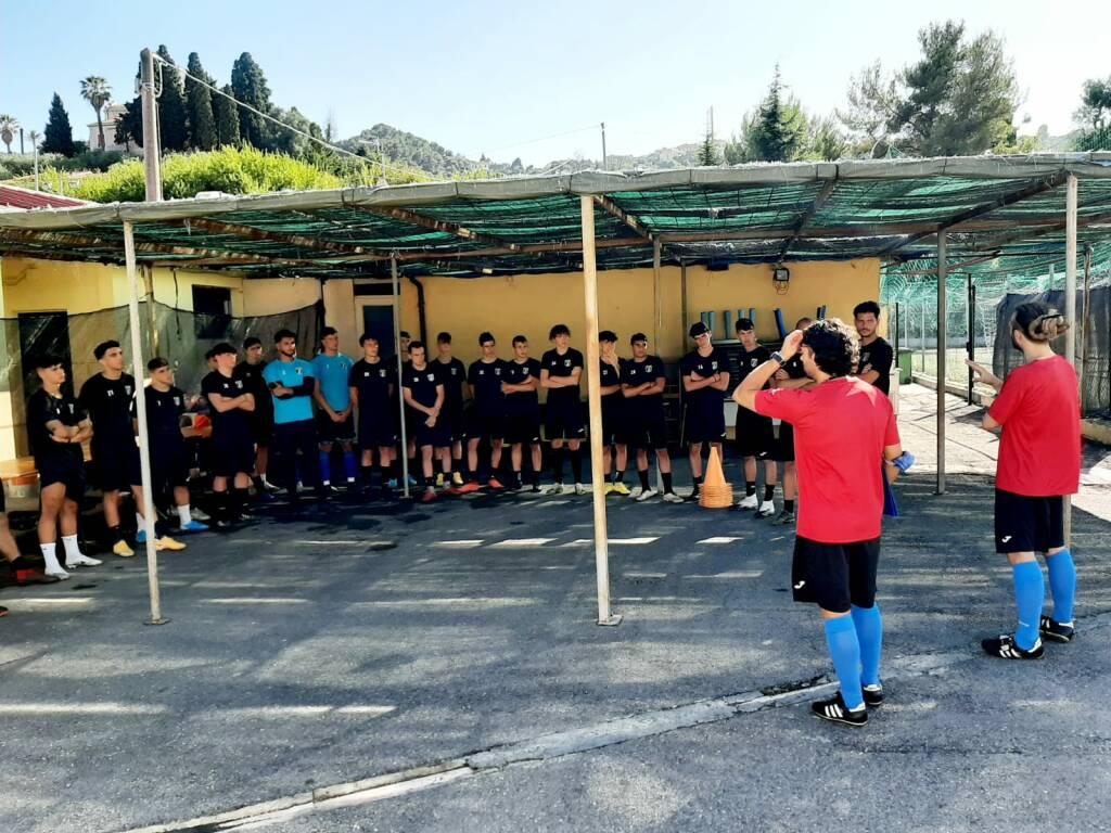 Imperia calcio, primo giorno raduno