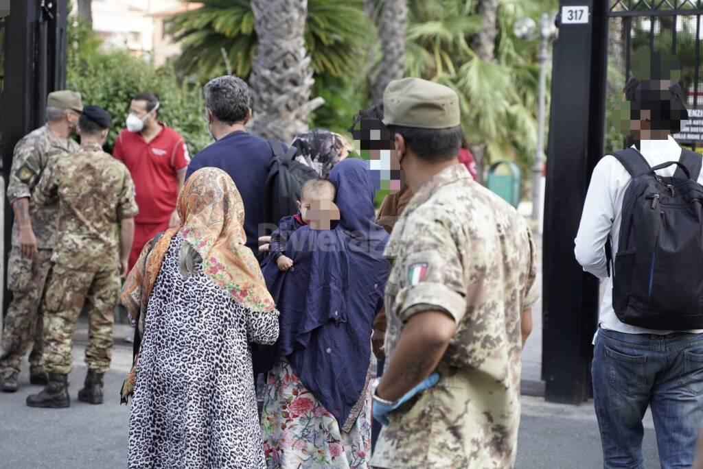 Rifugiati afgani Sanremo