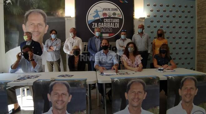 Riviera24 - Diano Marina, Za Garibaldi presenta la sua lista
