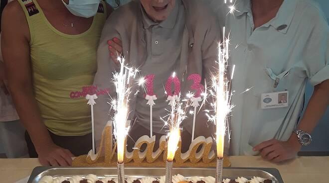 riviera24 . maria 103 anni