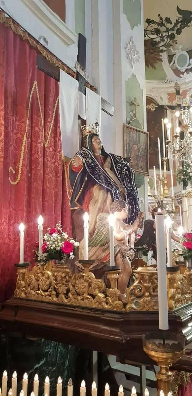 Aurigo e festa in onore della Madonna Addolorata