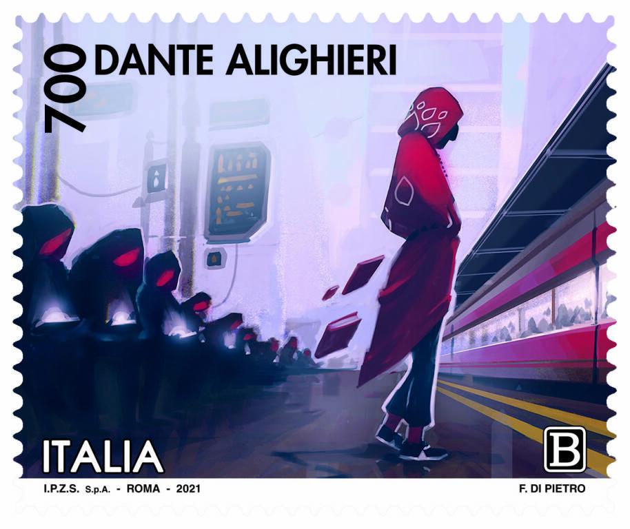 Francobolli commemorativi di Dante Alighieri