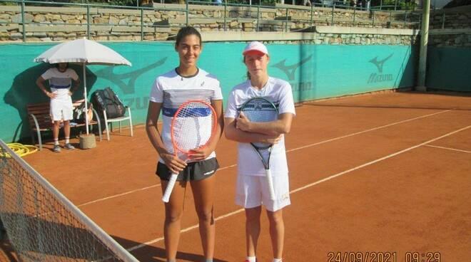 Giada Rossi e Francesca Gandolfi
