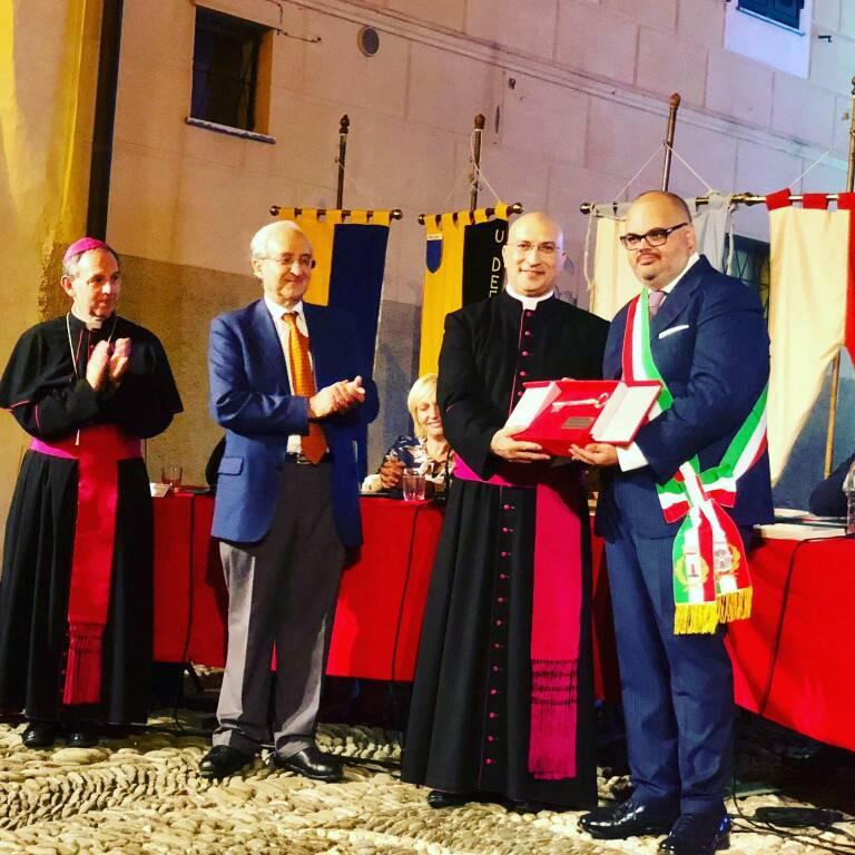 Giorgio Giuffra e cittadinanza onoraria