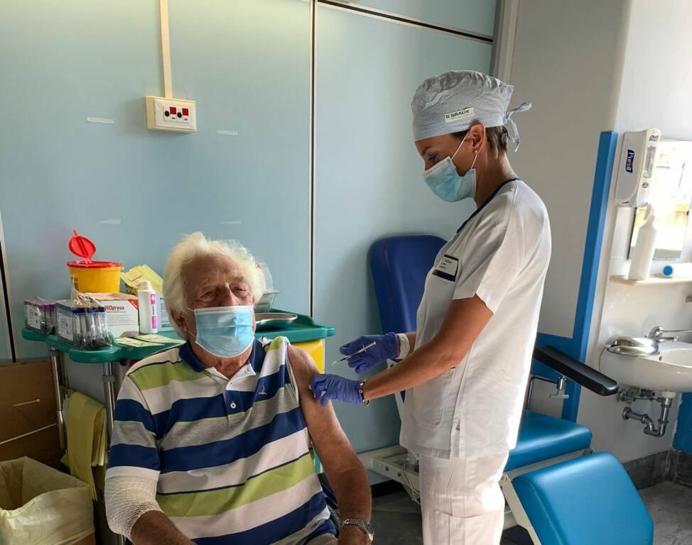 Michele Bianchi vaccino terza dose