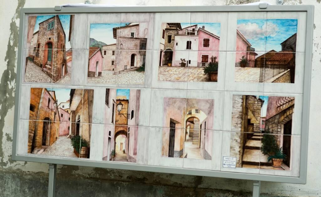 Murales della pittrice Maria Luisa Vrani