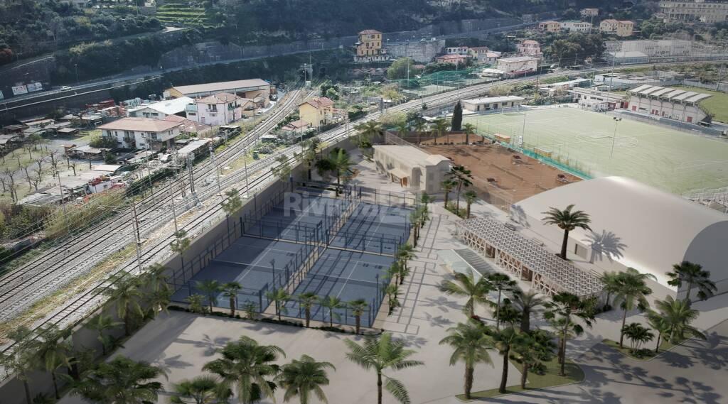 rendering tennis Peglia